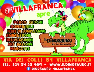 Apertura-Il-Dinosauro-Villafranca-vr
