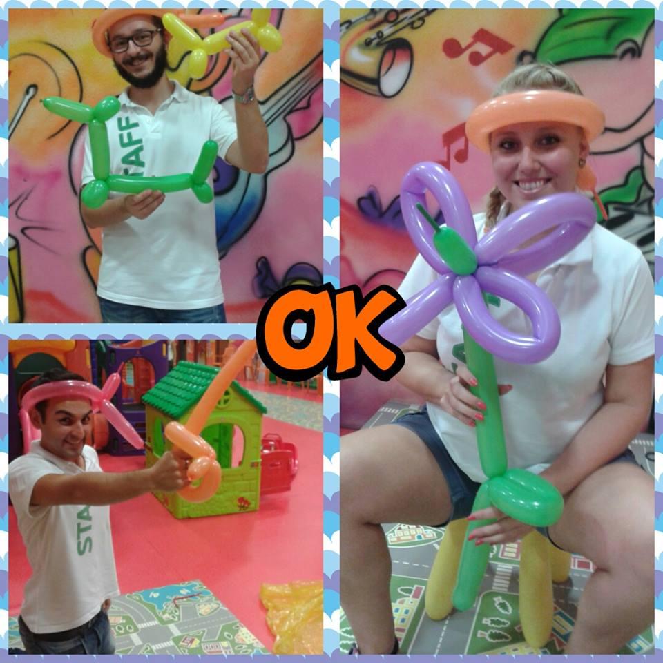 Art Baloon al Dinosauro di Villafranca