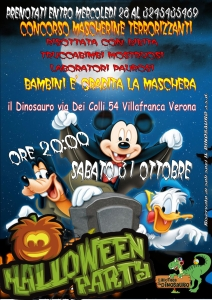 volantino halloween 2015