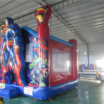 noleggio gonfiabili verona superman 4